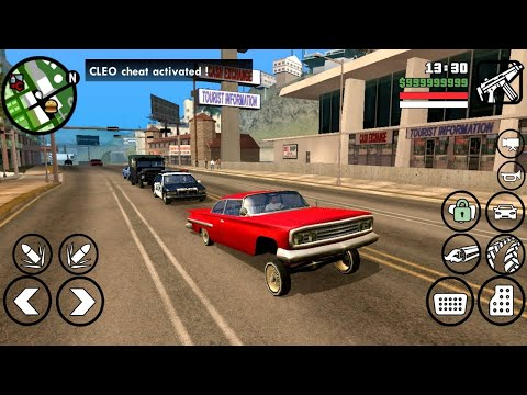 GTA SA LITE v11 – v1 08 & 2 00 [390MB] – Download (APK+DATA+