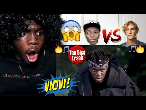 KSI - ON POINT (LOGAN PAUL DISS TRACK) REACTION!!!