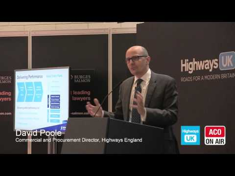 Highways UK - Keynote from David Poole of Highways England