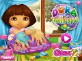 Dora Nails Spa Manicure Online Game - Girl Baby Games