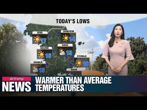Warmer Than Average Temperatures