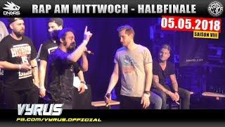 RAP AM MITTWOCH HAMBURG: 05.05.18 Halbfinale feat. VYRUS, MURO, JOLLE uvm. (3/4)
