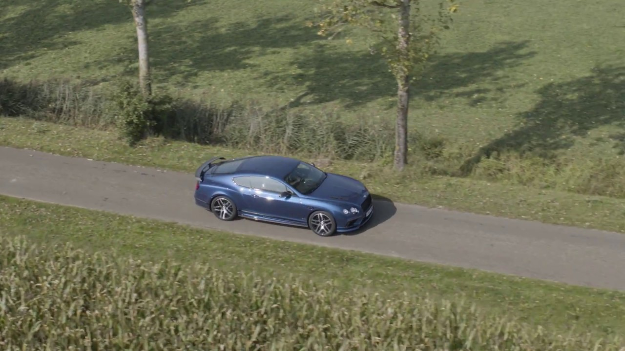 Bentley Continental Supersports - TheBlackbox org drone
