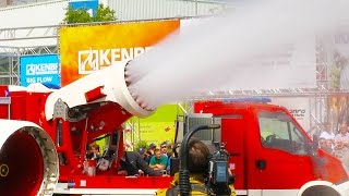 Turbolöscher Magirus AirCore Turbinen-Löschfahrzeug | Interschutz 2015