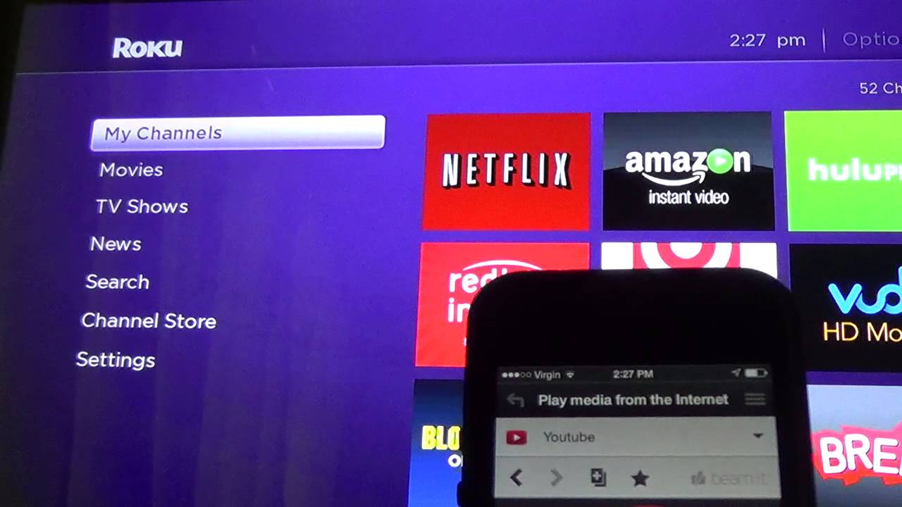 how to download youtube on roku tcl tv