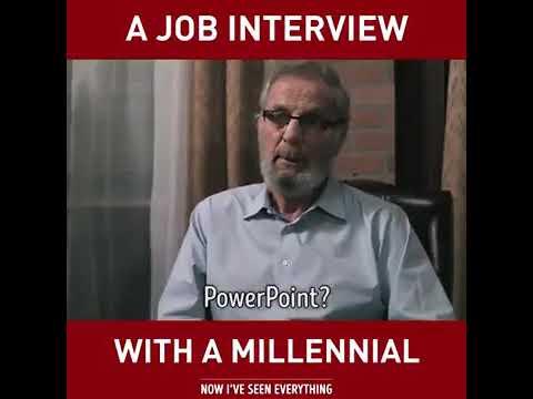 A Job Interview with a Millennial