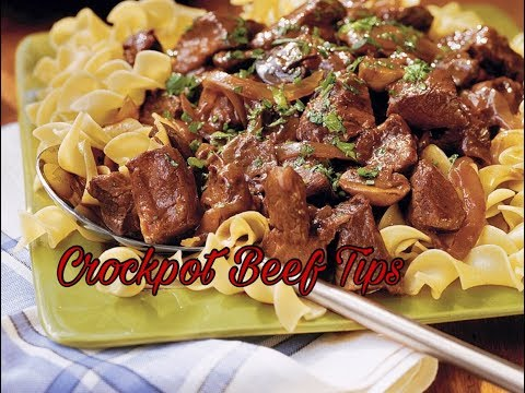 How To Make Crockpot Beef Tips