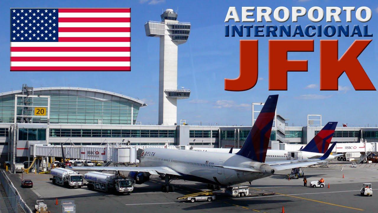 Aeroporto New York Newark : Aeroporto jfk new york eua youtube
