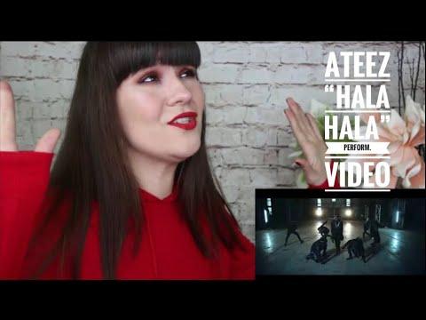 Reacting To ATEEZ(에이티즈) - 'HALA HALA (Hearts Awakened, Live Alive)' Official MV (Performance ver.)