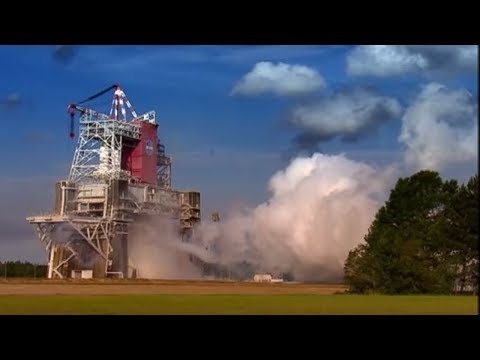Space shuttle rocket booster test | Speed | BBC