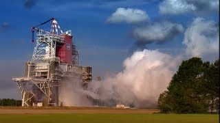Space shuttle rocket booster test - Speed - BBC