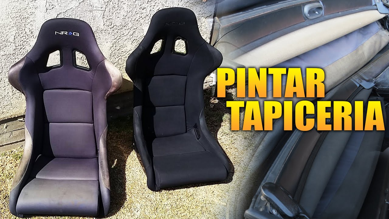 Pintura De Tela En Aerosol How To Paint A Car With Spray Cans Upholstery