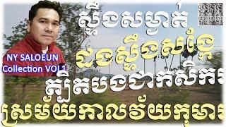 Ny Saloeun ⪧Non Stop Khmer Old Song Collection MP3 VOL1 | Steung Somngat | Dong Steung Sangke