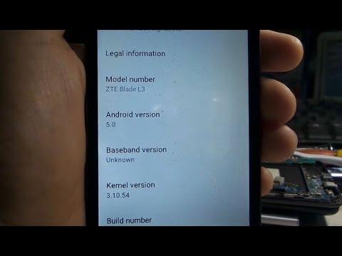 طريقة تفليش zte blade l3 firmware android 5 0