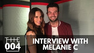 Mike, Kelly & Janet interview Spice Girl, Melanie C, backstage afte...