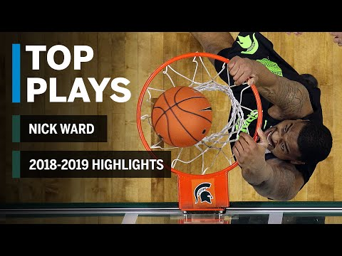 Season Highlights: Nick Ward Out Indefinitely with a Hand Fracture | Michigan State