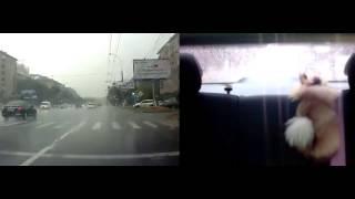 Видеорегистратор HYUNDAI H DVR08 с 2 мя камерами смотреть