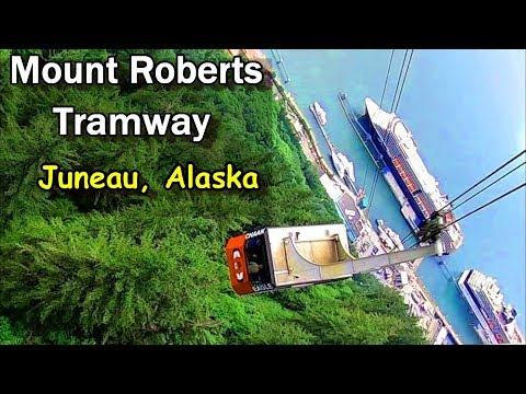 Alaska Cruise Excursion To Mount Roberts Using The Tramway, Juneau
