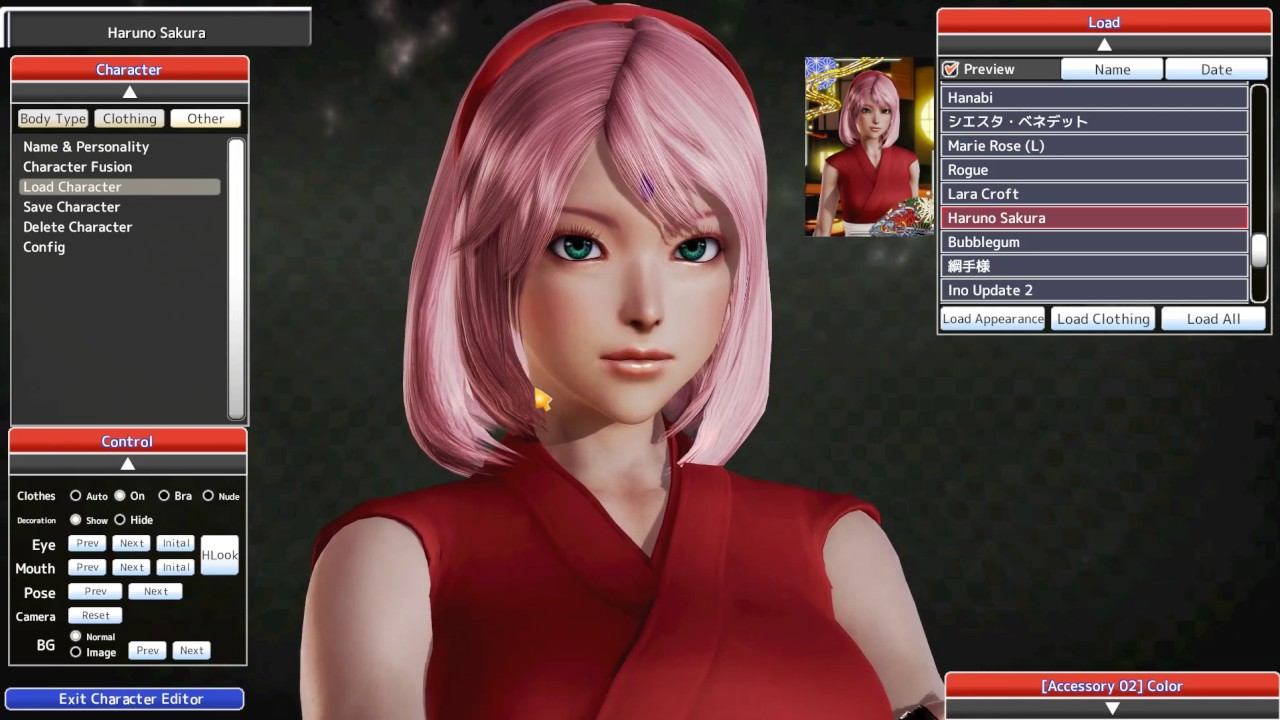 Honey select character