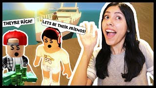 OUR NEW RICH FRIENDS TRIED TO KILL US! - Roblox - The Plaza