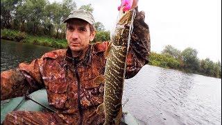 Река Угра. Рыбалка на щуку.