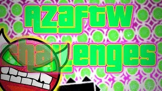 SHIP DEPRESSION? ~ Geometry Dash AZAFTW Challenges #4