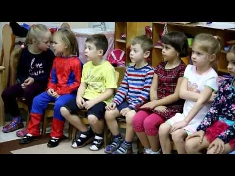 Simply English kindergarten lesson