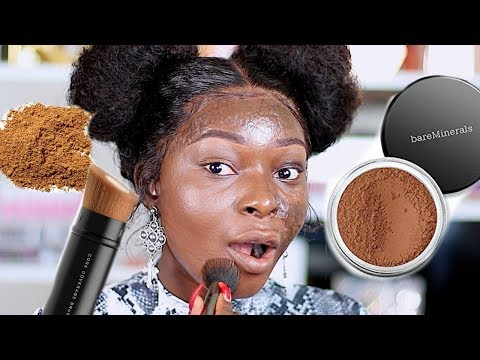 USING ONLY POWDER FOR MY MAKEUP | Shalom Blac