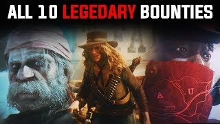Gambar cover ALL 10 LEGENDARY BOUNTIES in Red Dead Online