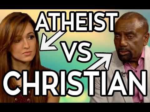 IDIOT CHRISTIAN VS ATHEIST