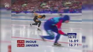 Gold Medal Moments Presented By HERSHEY'S | Dan Jansen Finally Gets His Gold
