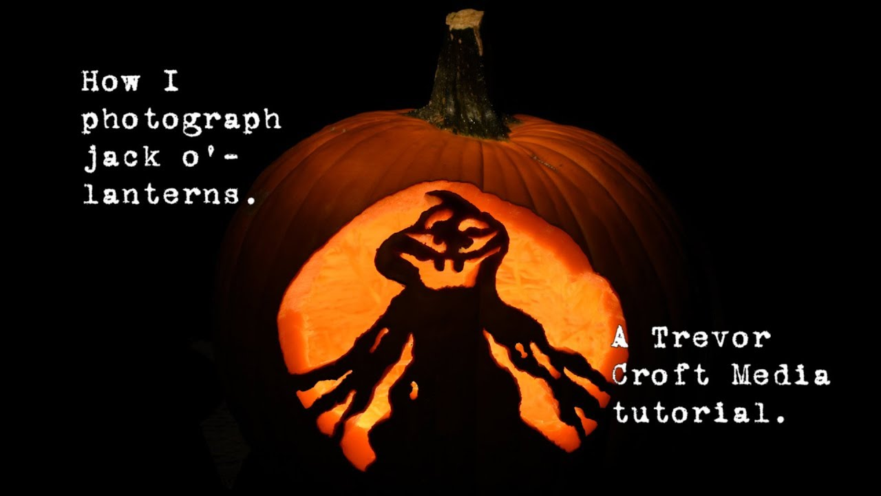 How to Photograph a Jack O Lantern images