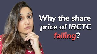 Why the share  price of IRCTC falling | IRCTC share latest news