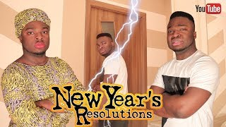 AFRICAN HOME: NEW YEAR'S RESOLUTIONS