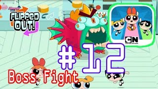 flipped out gameplay chapter 4 part 12 professor s lab level 8 10 final giant sea buddy boss fight
