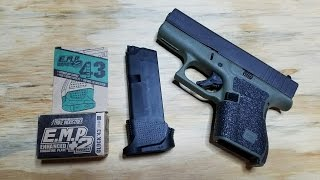 Glock 43 extended mag (+2)