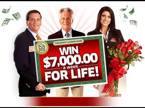 Publisher's Clearing House Prize Patrol Winner -- STAND UP COMEDY VIDEO