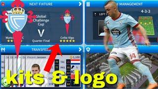 How To Create Celta Vigo Team Kits & Logo 2019 | Dream League Soccer 2019