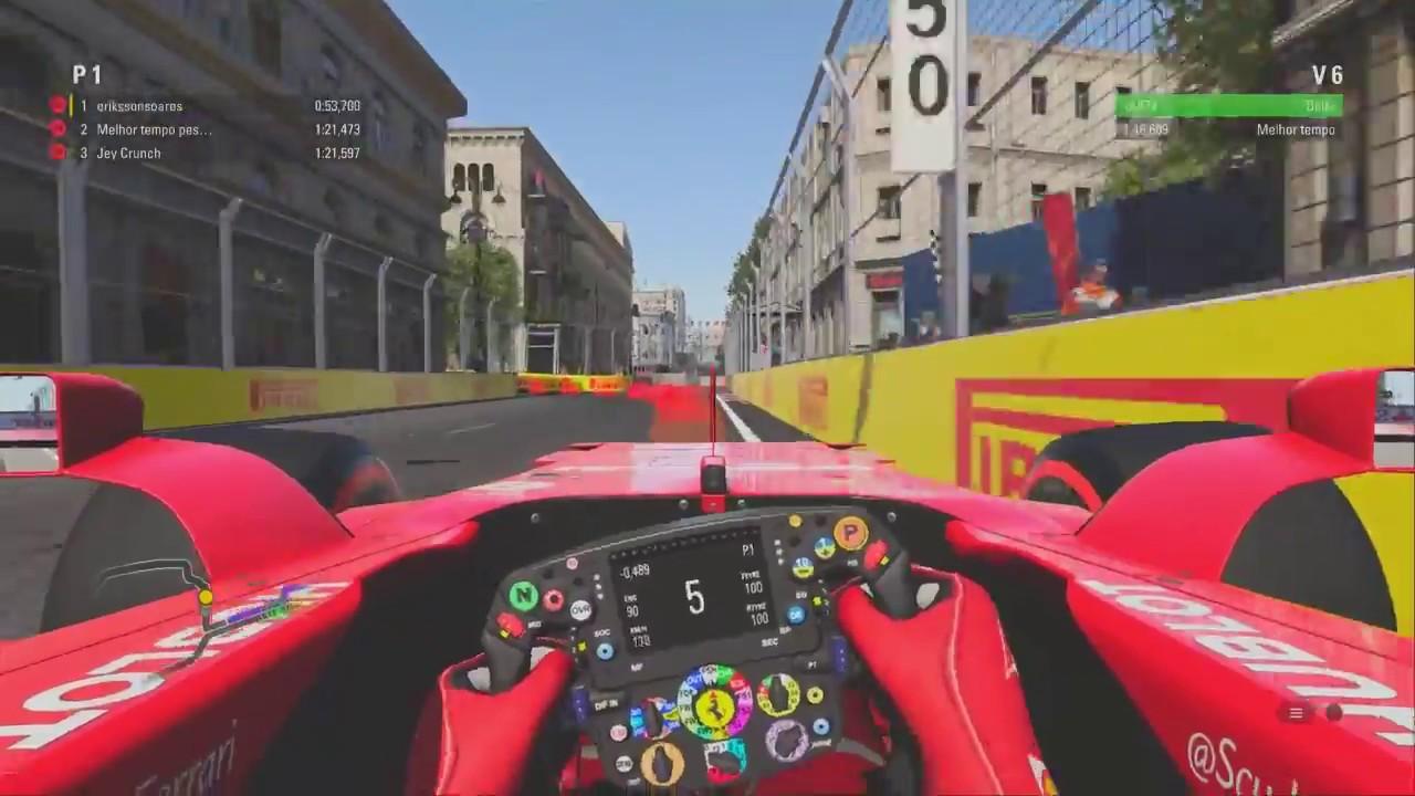 Circuito Urbano De Baku : Baku azerbaijão nova pista da f