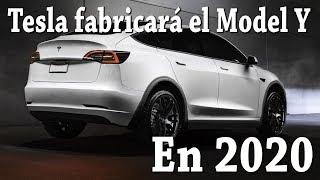 Tesla fabricará el Model Y en 2020