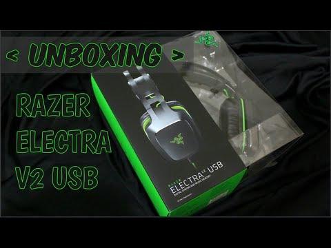 UNBOXING - RAZER ELECTRA V2 USB