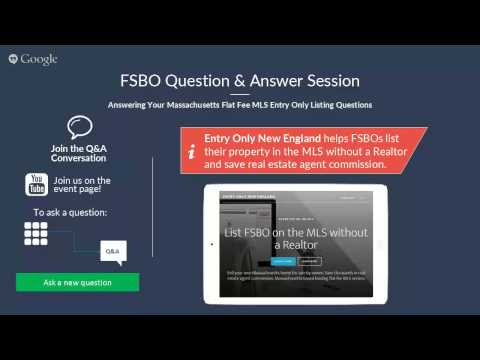Flat Fee MLS Listing FSBO Q&A Session - June 2015