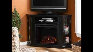 Claremont Convertible Corner Electric Fireplace TV Stand Review - One Of The Best?
