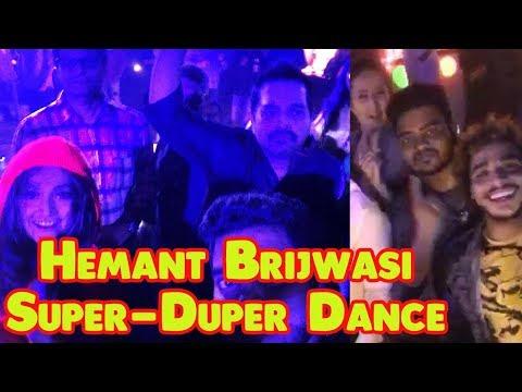 Hemant Brijwasi Super-Duper Dance Party Celebrations