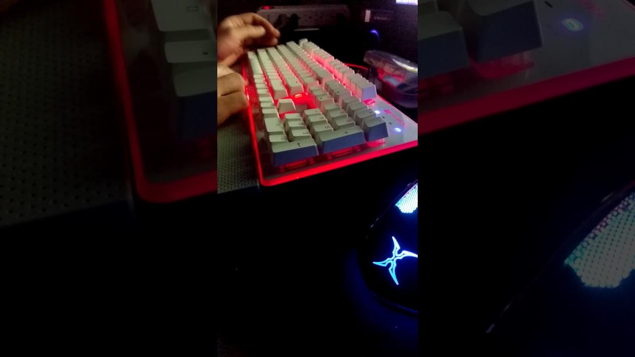 Gk3st Fn鍵+1~8關燈實測 - YouTube