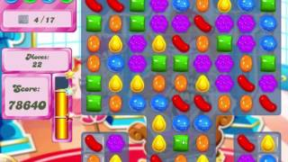 Candy Crush Saga Level 480 Clear all the Jelly!