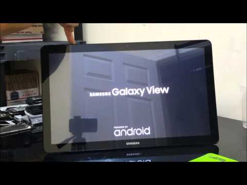 How To Reset Samsung Galaxy View Tablet - Hard Reset and Soft Reset