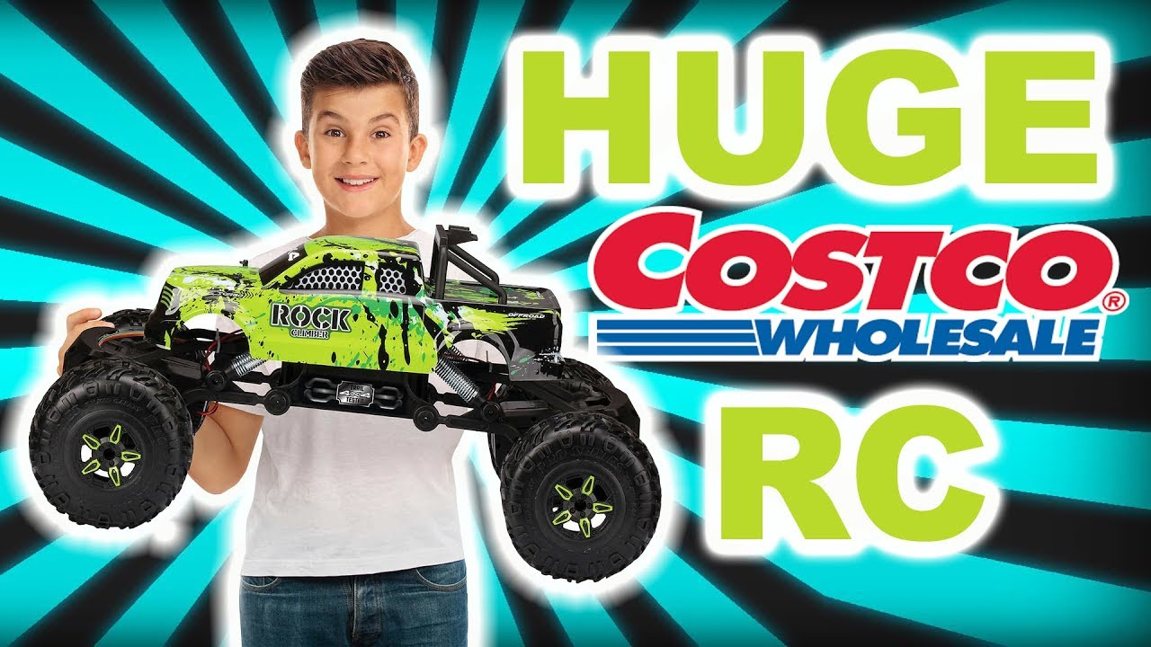 Unboxing Costcos Huge  Rc Crawler