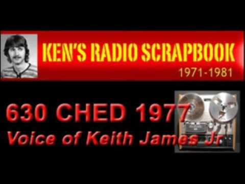 630 CHED Edmonton Alberta 1970'S - Keith James Jr- RADIO ARCHIVE