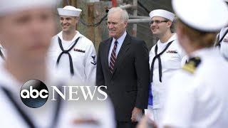 Pentagon asks for Navy secretary's resignation over SEAL war crimes case l ABC News